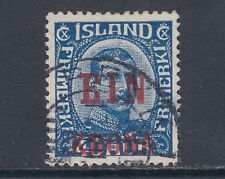 Iceland Sc 150 used 1926 1k on 40a King Christian X, VF