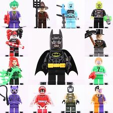 13 Pcs Set Dc comics Minifigures Batman 2017 movie Two face Fit with Lego