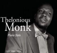 THELONIOUS MONK - PIANO SOLO   CD NEW MONK,THELONIOUS
