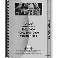 New Service Manual Fits Ford 4410 Tractor