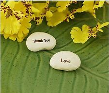 20pcs Magic Bean Seeds Plant Growing Mixed Message LOVE Words Office Decors FW