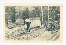 Sugar Peak Trail—St. Jovite QUEBEC Cross-Country Skiing—Gray Rocks Inn 1945