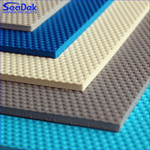 "SeaDek Embossed Sheet - 40"" x 80"" Boat Non Skid Stick On Marine Foam -Pick Color"