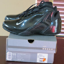 "2001 Nike Air Zoom Flight Turbine ""ALL BLACK w/ WHITE"" sz 11 New DS Very RARE"