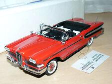 alfreedom FRANKLIN MINT 1958 Ford Edsel Citation LIMITED EDITION die cast1:24