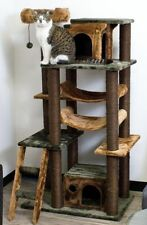 "60"" TALL MINI-ZON CAT TREE, ""2"" COLORS-*FREE SHIPPING IN THE U.S.*"