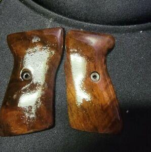 Sauer 38h wood grips