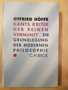 Kritik der reinen Vernunft von Immanuel Kant (Gebundene Ausgabe)