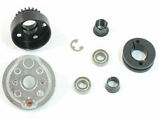 NEW T-MAXX 3.3 CLUTCH 22T CLUTCHBELL TELEMETRY FLYWHEEL SHOES 4122 4146X 6542