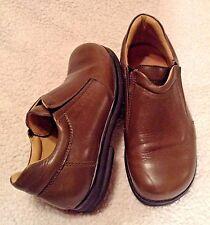 BIRKENSTOCK Footprints Brown Leather Slip On Loafers-Women's EURO 36-US 5.5M