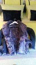 manteau peau lainée Ventcouvert , peau retournée