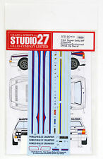 Studio27 ST27-DC1173 Lancia Super Delta HF Integrale Decal for Hasegawa 1/24