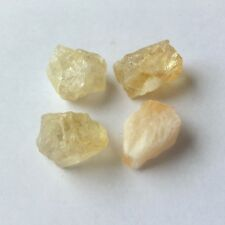 Nuggets GEMSTONE Beads Natural Chakra Reiki Healing Crystal Synthetic Citrine - Yellow