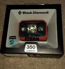 Black Diamond Storm Headlamp 350 lumens Color:Octane Brand New Battery included