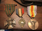 Three WW1 French Victory Medals