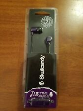 Skullcandy JIB In-Ear Noise-Isolating Earbuds with Microphone and Remote. Purple