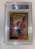 1996 Topps Youthquake YQ15 Kobe Bryant Rookie Card Graded BGS MINT 9 Lakers
