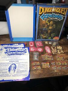 Dungeonquest Catacombs - Expansion Set Games Workshop - complete with box