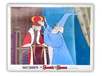 """THE SWORD IN THE STONE"" ORIGINAL 11X14 AUTHENTIC LOBBY CARD POSTER PHOTO 1963"