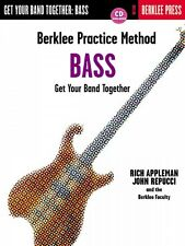 Berklee Practice Method: Bass - Berklee Methods Book and Cd New 050449427