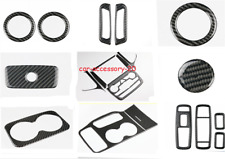 Real Carbon Fiber Inner Kit Trim For Jeep Grand Cherokee 2016-2020 Accessories