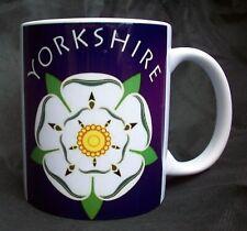 Yorkshire Mug 11oz Ceramic Gift Mug Yorkshire Born And Bred White Rose County