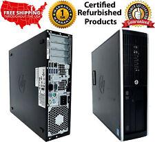 HP 8300 SFF CORE I5 3.20 GHZ 16GB RAM 1TB HD  WIN10 PRO 1 YEAR WARRANTY