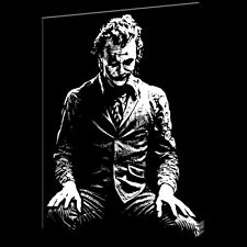 Joker Dark Knight Batman painting 40x28 Framing avail. Bane Riddler Gotham Wayne