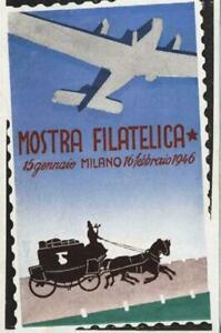 Philatelic Souvenir Earliest Post-War Philatelic Expo Milano - Jan 1946 NEW (D2)
