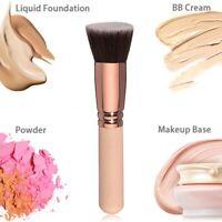 Flat Top Foundation Brush Large Face Brush for Liquid Cream Powder Beauty Cxz