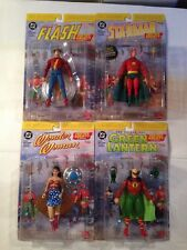 DC Direct JSA Flash Green Lantern Wonder Woman Starman Near Mint Nib Golden Age