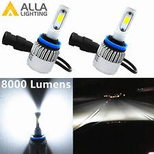 Alla Lighting LED Best Seller 6000K Pure White H8 Driving Fog Light Bulb Convert
