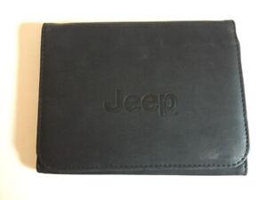 JEEP BORDMAPPE für Betriebsanleitung Cherokee Renegade Handbuch SM