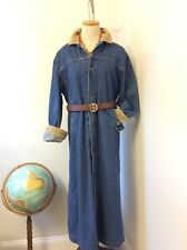 Vintage Levis Cattlemen Riding Jacket Coat Duster Small Unisex