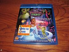 The Princess and the Frog ; Disney (Blu-ray/DVD, 2011) NEW; Sealed + I Ship Fast