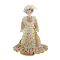 1/12 Puppenhaus Miniatur Puppe Victoria Style Handgemachte Lady Doll Mit