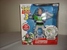 TOY STORY 3 EXCLUSIVE U-COMMANDO BUZZ LIGHTYEAR W/ REMOTE CONTROL + SPANISH PHRA
