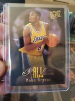 1996-97 Fleer Ultra ALL-ROOKIE INSERT SET OF 15 KOBE BRYANT IVERSON RAY ALLEN RC