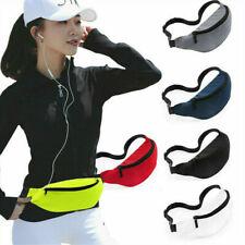 1X Outdoor Sport Bum Bag Fanny Pack Hiking Waist Money Belt Zip Pouch Wallet NEW
