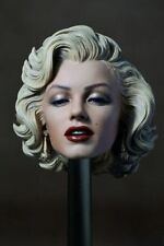 1:6 Scale Marilyn Monroe Head Sculpt Painted F 12'' Female Action Figure Body