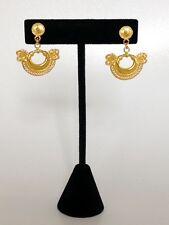 Calima Women Fashion Jewelry Pre-Columbian Handmade Drop Snake Earrings