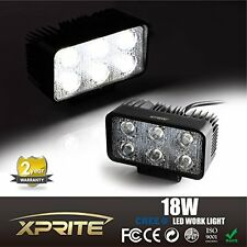 Xprite 18W CREE LED Spot Work Light Bar Fog Driving Lamp Off-road Truck 4WD SUV