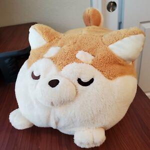NWT BIG Shiba Dango Mochi Plush Fukuya Plushie Pillow Soft Japanese Collectible