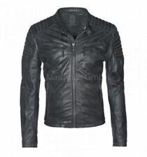 Jacken im Bikerjacken-Stil aus Leder