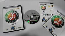 ROLAND GARROS PARIS 2000 PC JUEGO CD-ROM ESPAÑOL FX INTERACTIVE