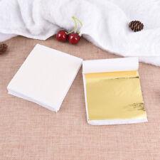 DIY 100 Sheets Gold Foil Leaf Leaf Gilding Handicrafts  Craft Paper Decoration B