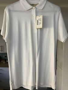 Glenmuir Ladies Cotton Pique Golf Polo Shirt Size Large