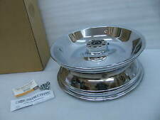 "New Harley Davidson Solid Disc Chrome Rear Wheel 41647-06 Fat Boy 17"" x 6"""