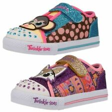 Skechers Shoes Girls' Casual Trainers with Lights