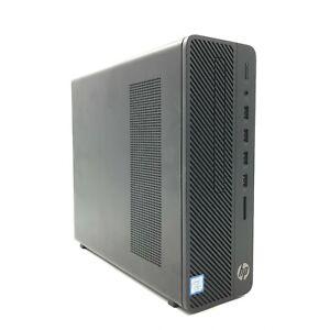HP 290 G2 SFF Business PC i3-9100 CPU @ 3.60GHz 8GB DDR4 500GB HDD 256 SSD